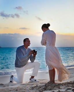Arod Proposed To Jlo On The Beach