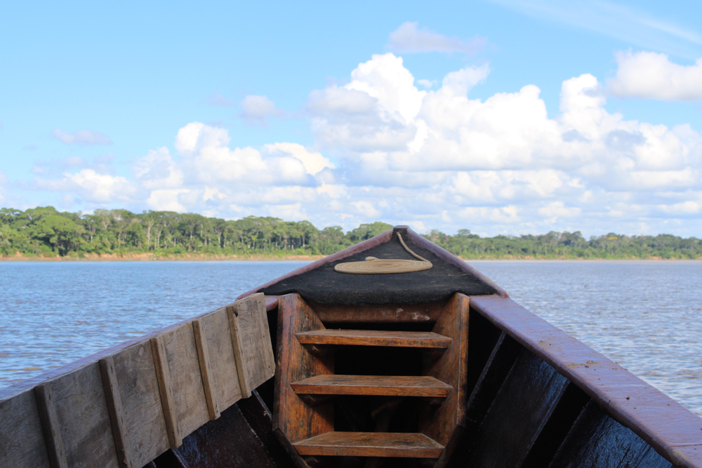Boat trip from Inkaterra Reserva Amazonica Lodge, Peru - travel & lifestyle blog