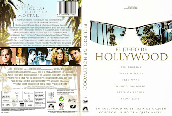 Caratula dvd: El juego de Hollywood (1992) (The Player)