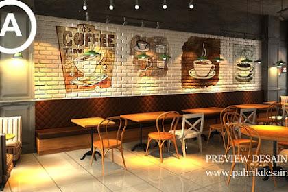 Jasa desain online gambar 3d cafe unik gaul dan menarik