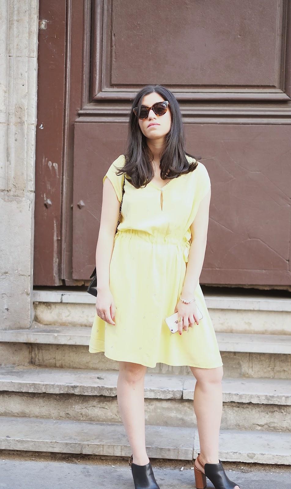 robe_été_sac_chanel_vintage