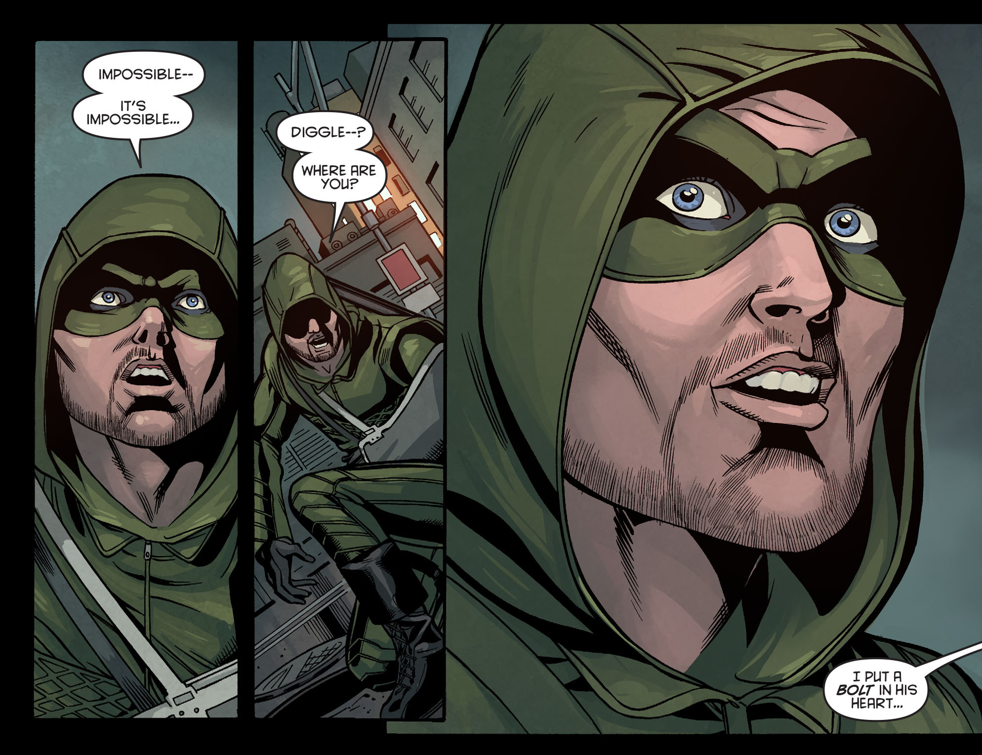 Read online Arrow: Season 2.5 [I] comic -  Issue #7 - 4