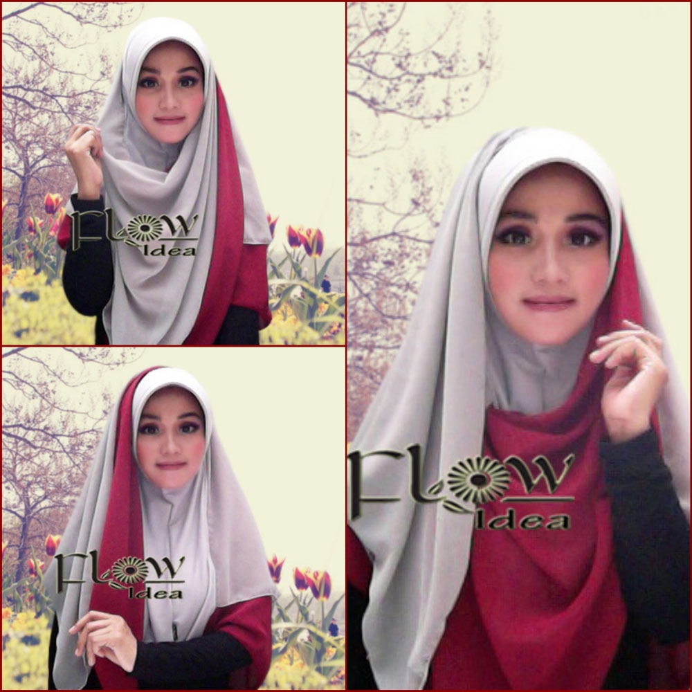 24 Foto Tutorial Hijab Model Topi Paling Update Tutorial Hijab 7088d70fea