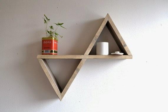 Une étagère géométrique | Miss Chocorêve