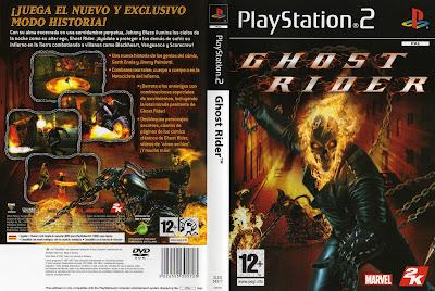 Jogo Ghost Rider PS2 DVD Capa