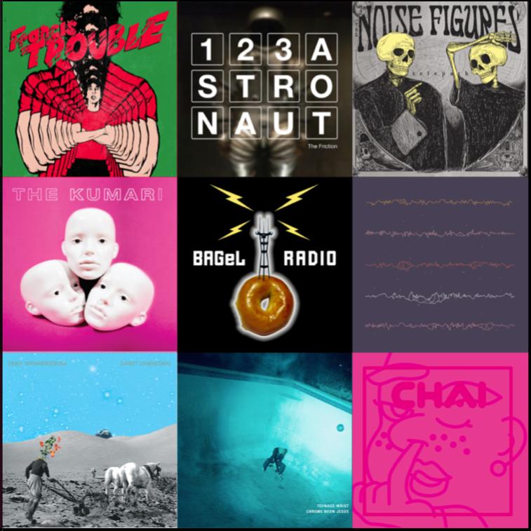 bagel radio indie rock noise pop internet radio 480 minutes
