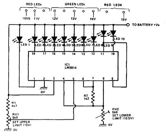 arduino uno led blinking circuit diagram