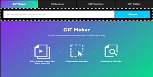 موقع giphy لعمل الصور المتحركة للكمبيوتر