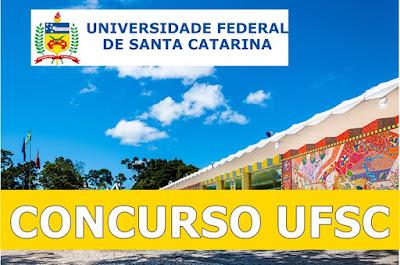 Apostilas da UFSC Técnicos administrativos 2018