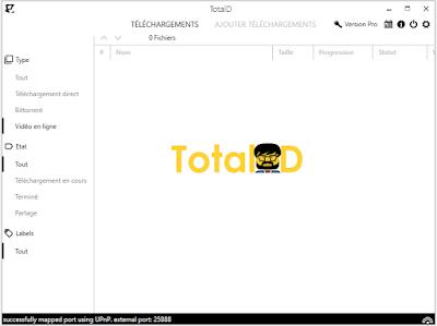 تحميل برنامج التحميل TotalD 1.5.0 مجانا