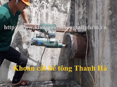 Khoan cắt bê tông tại huyện Mỏ Cày Nam