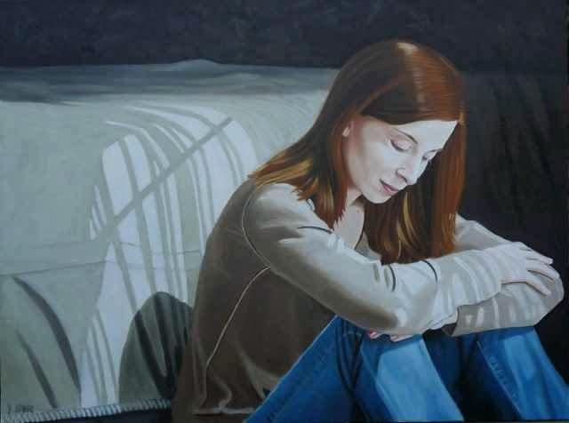 В одиночестве и печали