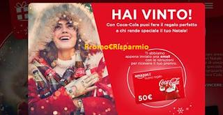 Logo Gioca e vince buono Amazon con Coca-Cola: prova anche tu!