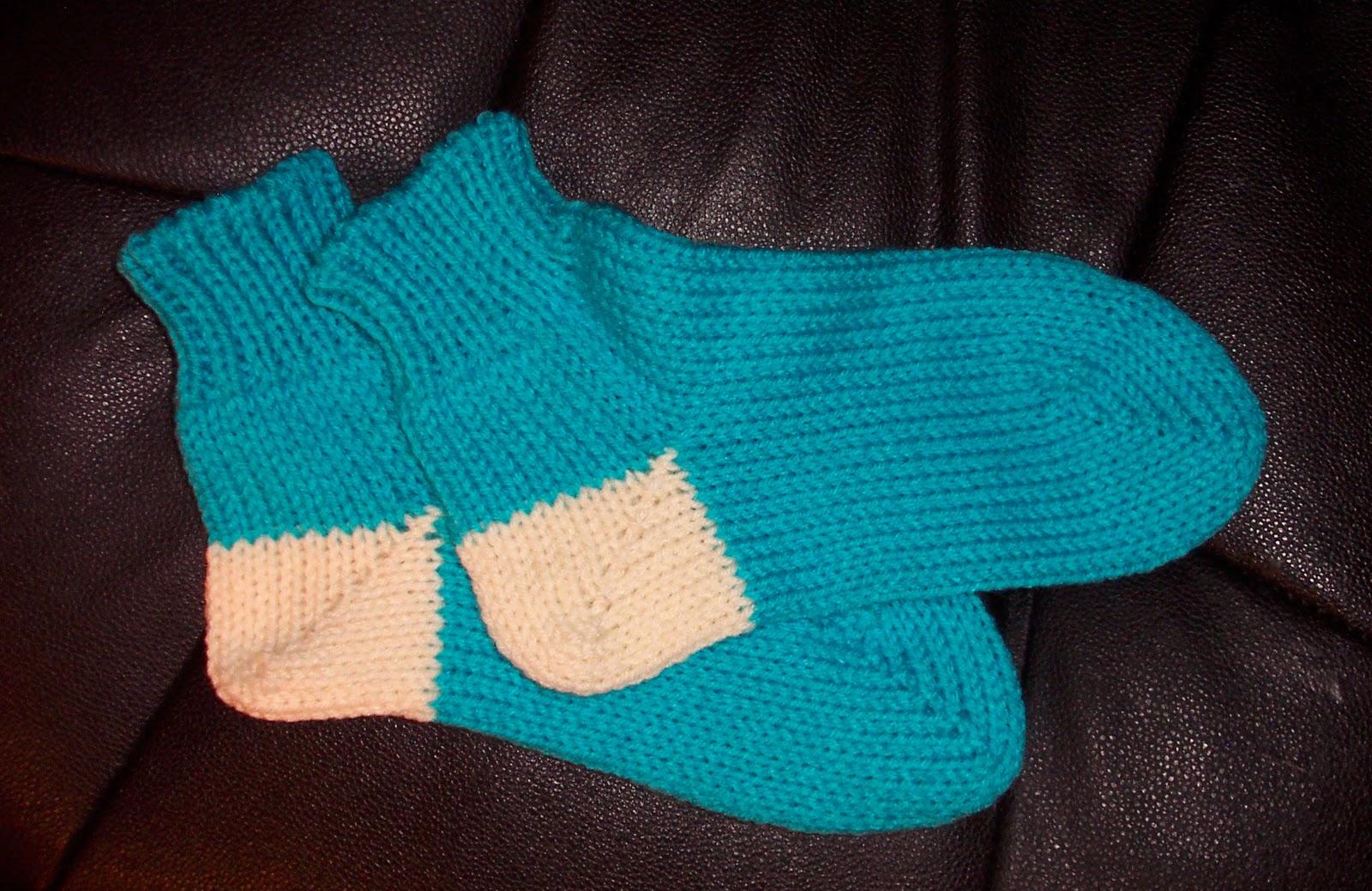 TOM MACHINE KNITTING GUY: Knitted Slipper Socks - Warm ...