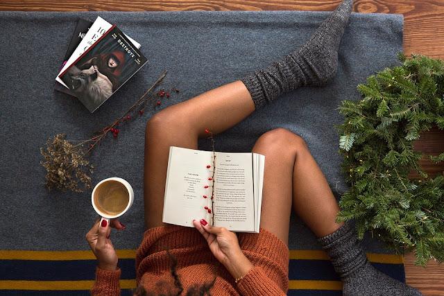 Zimowy wieczór z książką