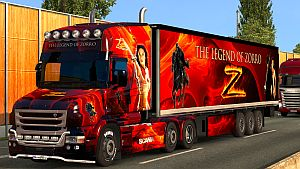 The Legend of Zorro pack for Scania T