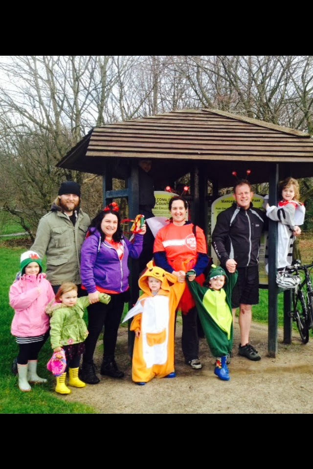 , Team Honk Bloggers Relay:  Milford Haven to Margam Park