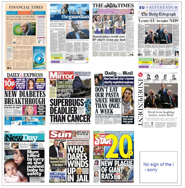 front pages 15-04-16