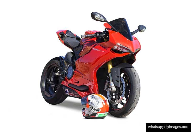 red bike dp pic