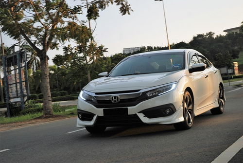 Harga Honda Civic Turbo 2016