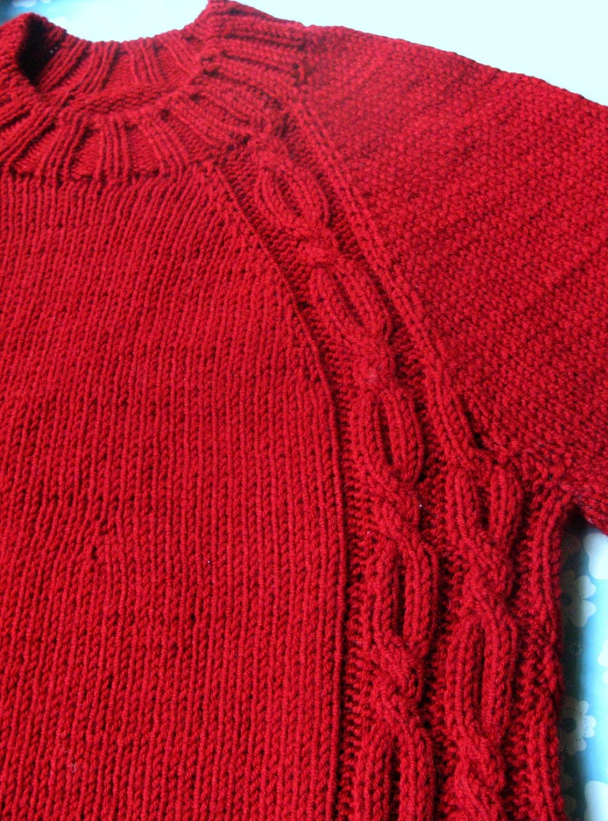 Красный свитер своими руками фото 270