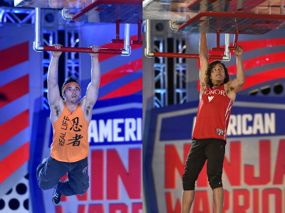 Drew Drechesel and Daniel Gil made it through the farthest on ANW 2016.