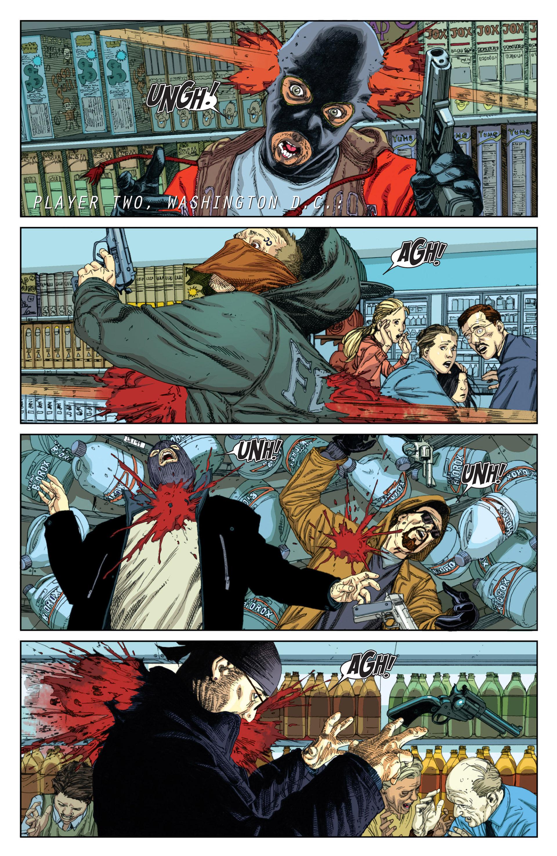 Read online Millar & McNiven's Nemesis comic -  Issue #1 - 13