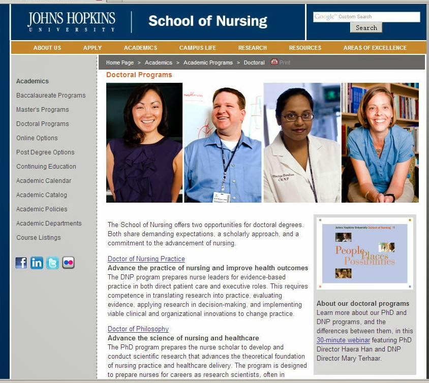 Nursing Schools Maryland Requirements