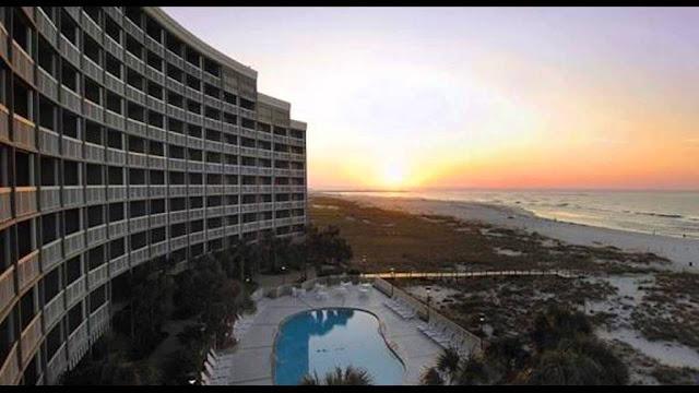 Take in breathtaking views of the Gulf of Mexico from your private balcony at the Island House Hotel Orange Beach - a DoubleTree by Hilton hotel.