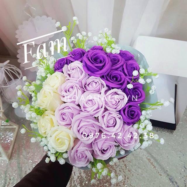 Hoa hong sap thom vinh cuu tai Phuc Tho