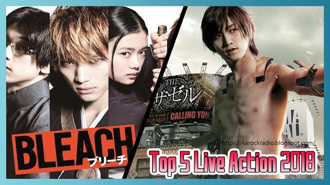 Top 5 | Las películas live-action que más esperados para 2018