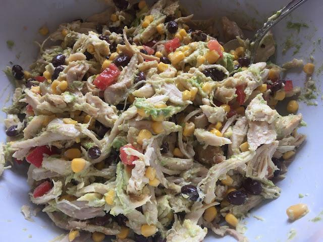 Southwest Chicken Salad Recipe - Diabetic Friendly