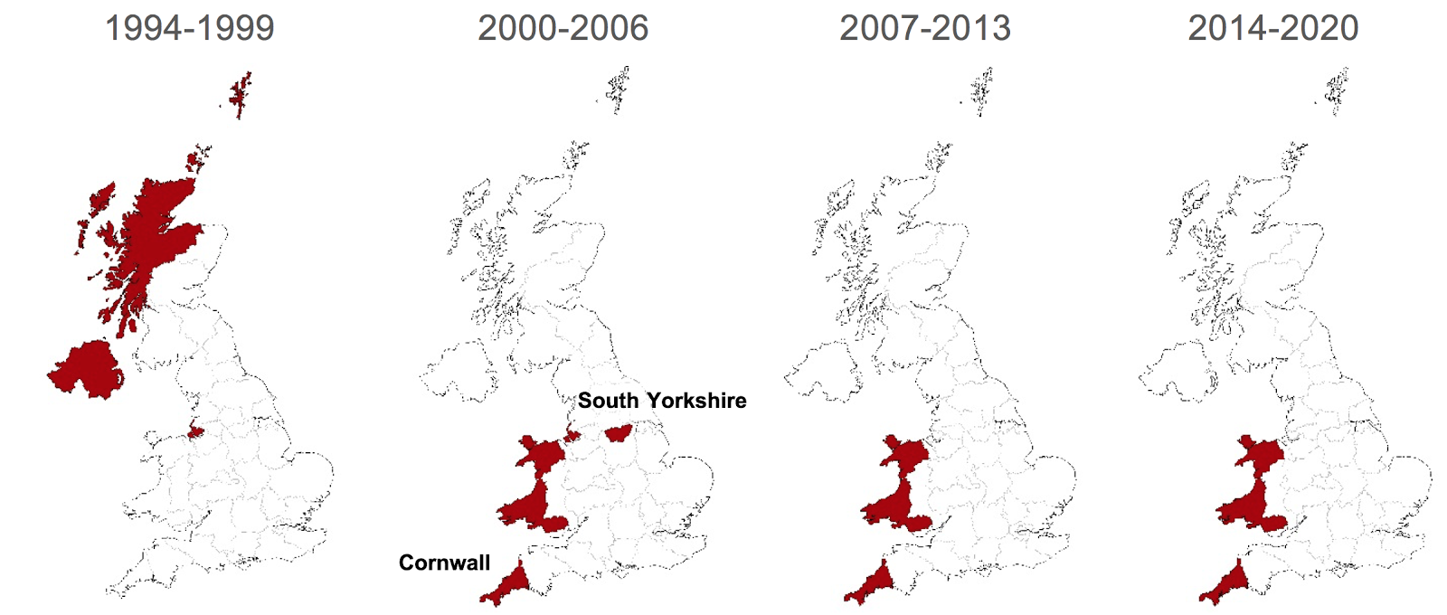 online comment analyses and debate by cep academics on in order to single out the effects of the eu funds in the two regions 1992 2014 regional trends of unemployment in cornwall and south yorkshire are