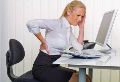 penyakit pinggang pada pekerja kantoran