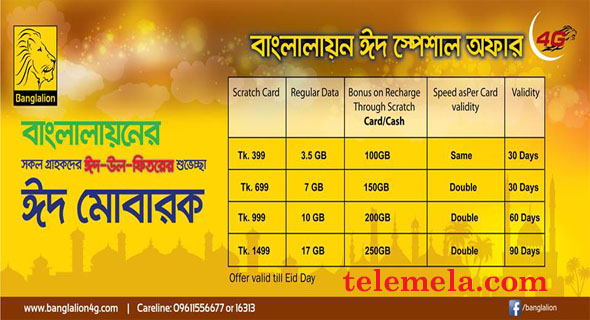 Banglalion Eid Special offer