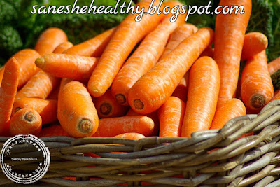 Carrots are roots eaten as vegetable.