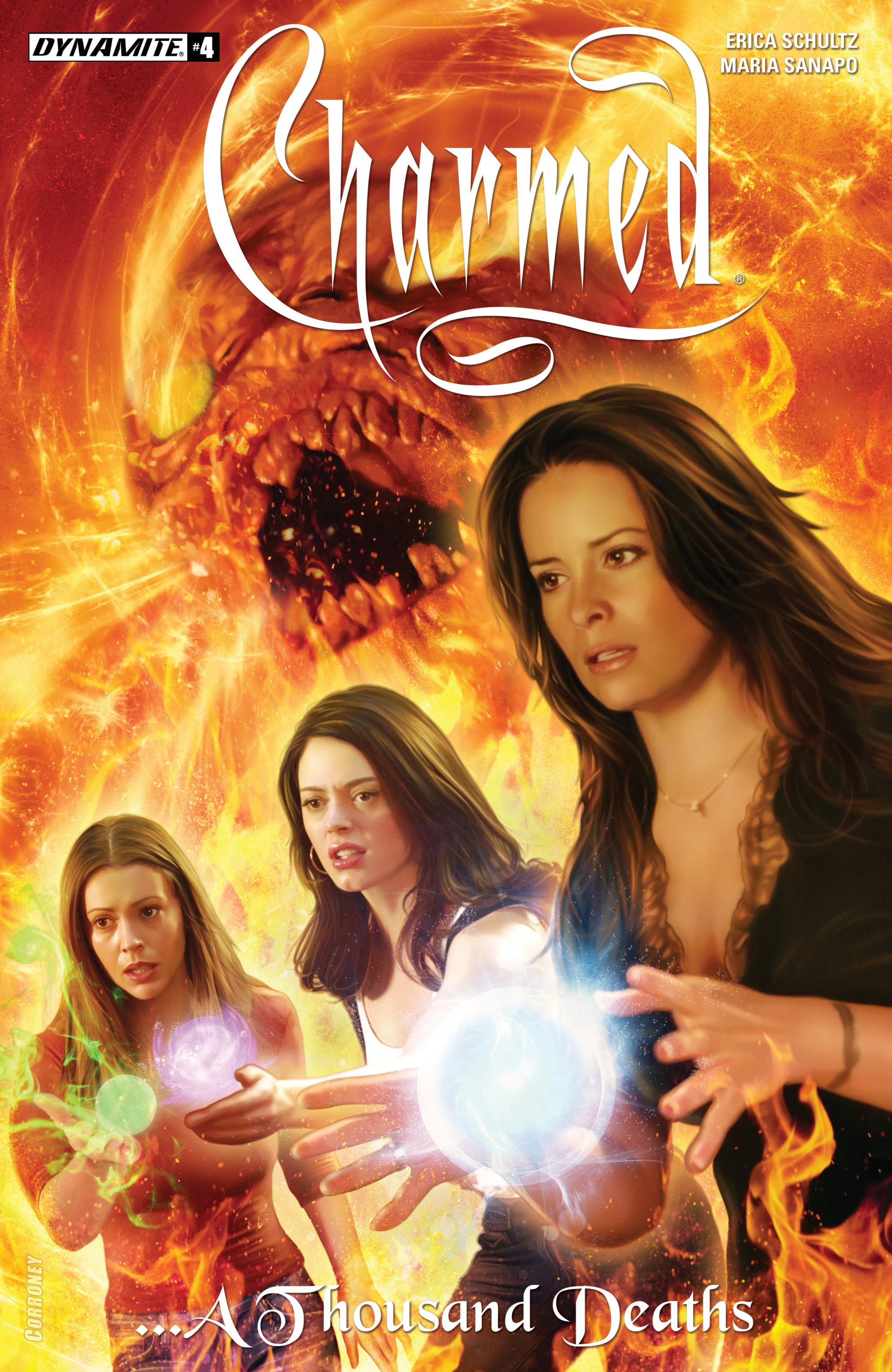 Read online Charmed (2017) comic -  Issue #4 - 1