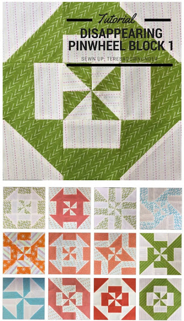Disappearing Pinwheel quilt block