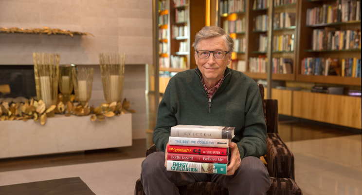 Bill Gates: 5 amazing books I read this year.