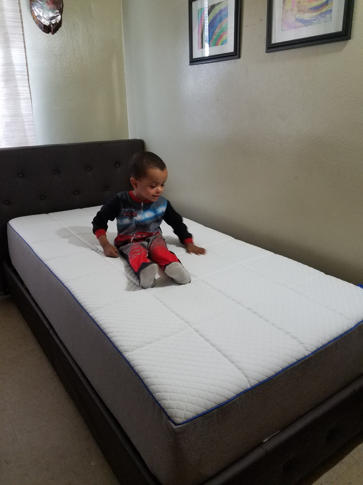 After a kid has outgrown their toddler bed. It's time to look for a twin size  mattress. Your kid should get the best and a gel memory foam is a must-have  ...