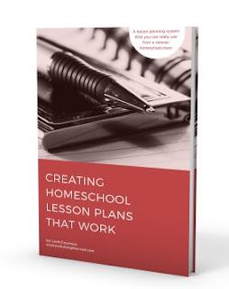 Homeschool lesson planning