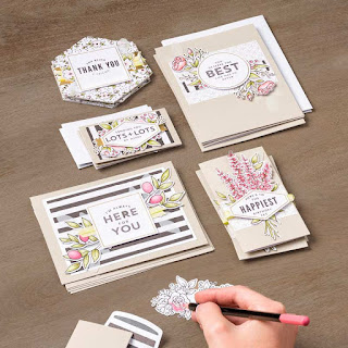 Lots of Happy Card Kit, Stampin Up,