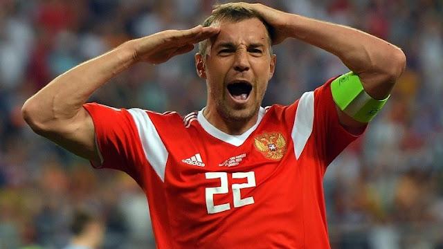 """تصفيات """"يورو 2020"""" روسيا تفوز على سان مارينو بتسعة أهداف نظيفة"""