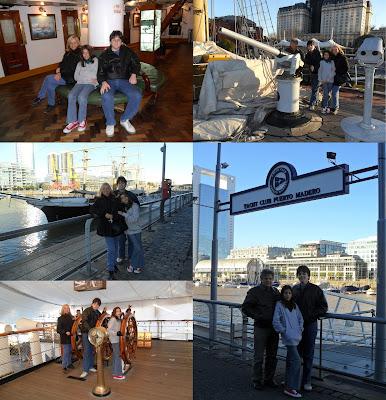 conhecendo a América Latina; Puerto Madero; Navio Museu Sarmiento; Argentina; Buenos Aires; turismo América Latina;