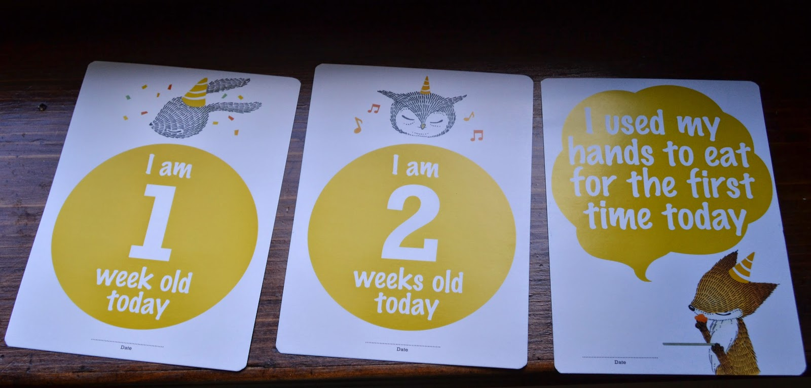Ciinolin Baby Steps Cards
