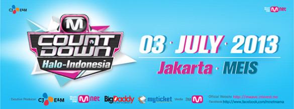 Konser 'M COUNTDOWN Halo-Indonesia' Dibatalkan