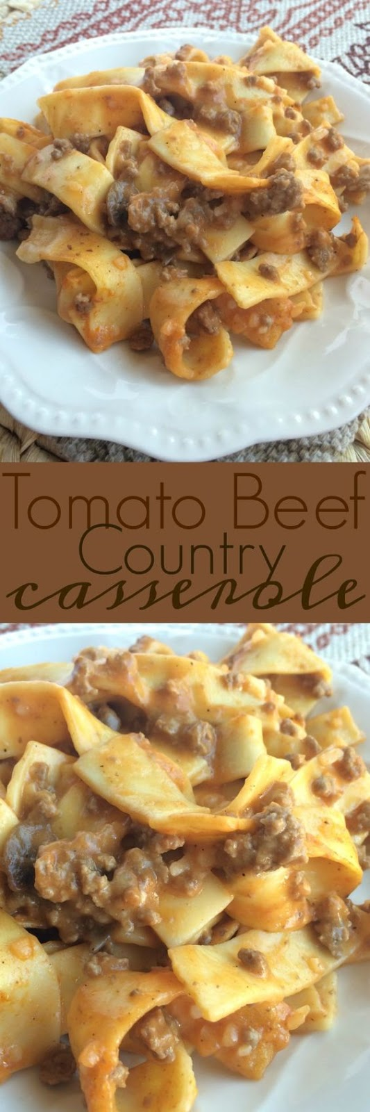 Ground Beef Country Casserole #DINNER #CASSEROLE #GROUNDBEEF