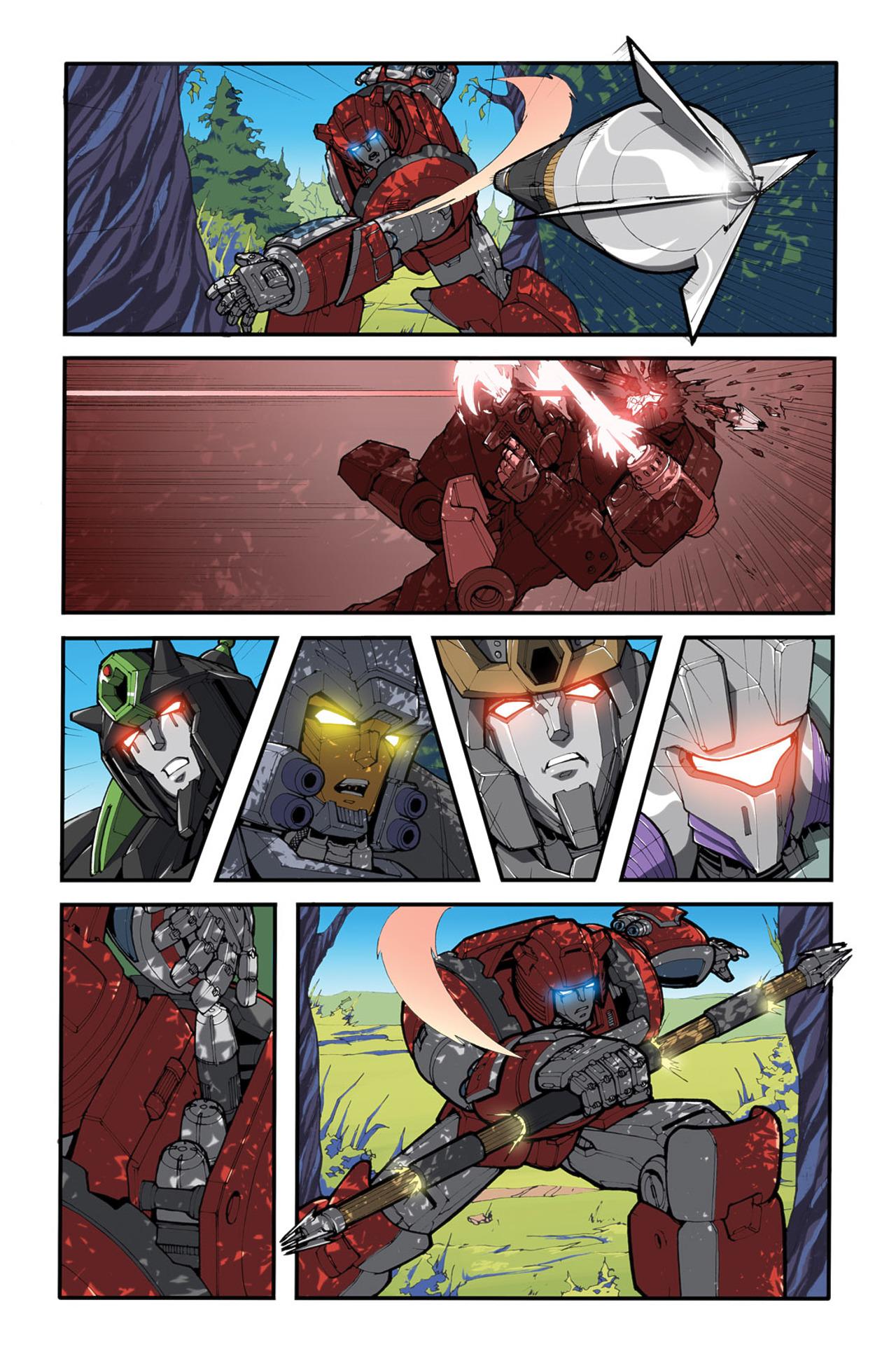 Read online Transformers Spotlight: Cliffjumper comic -  Issue # Full - 17