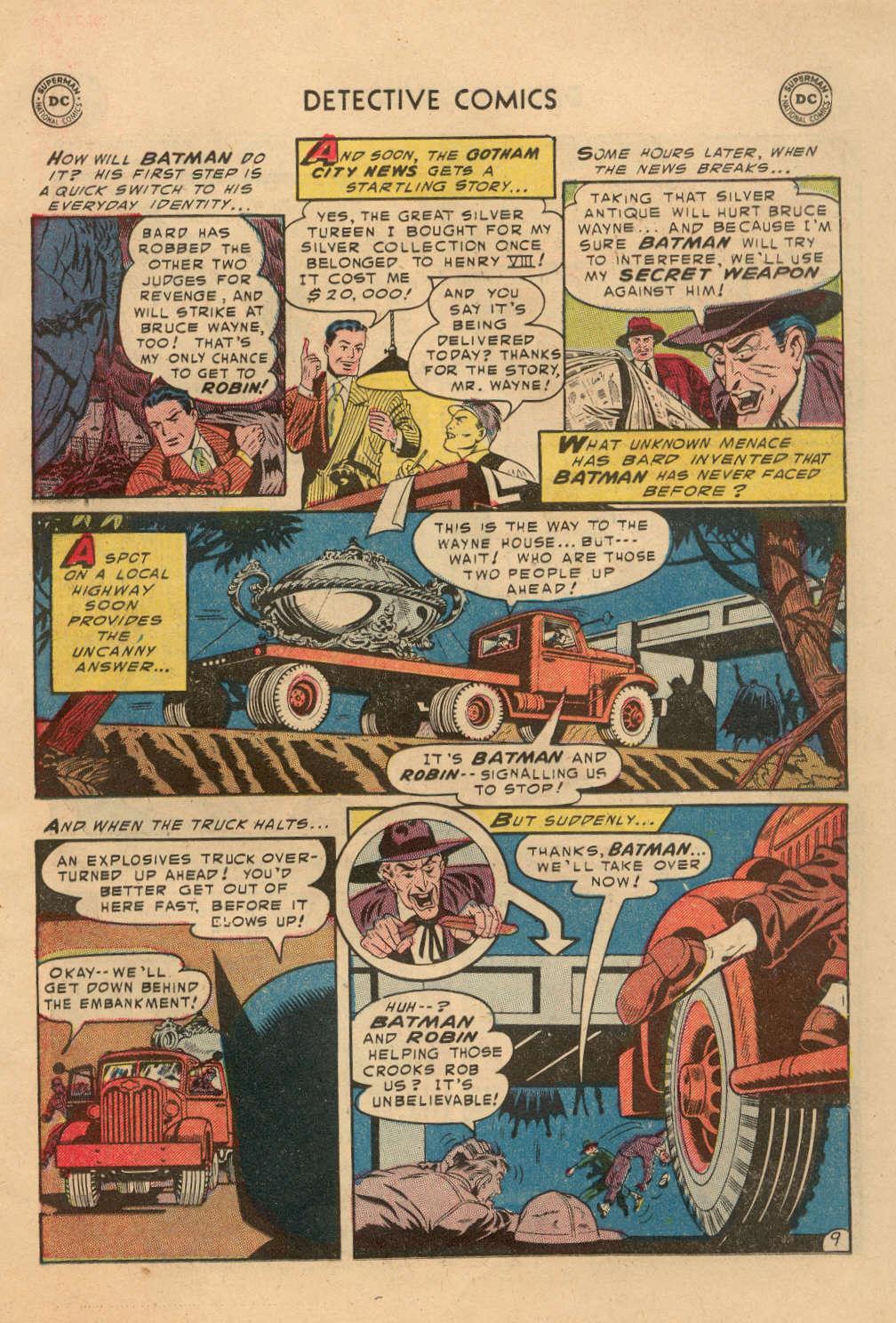Read online Detective Comics (1937) comic -  Issue #212 - 10