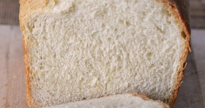 Simple White Bread Recipe Made In A Food Processor